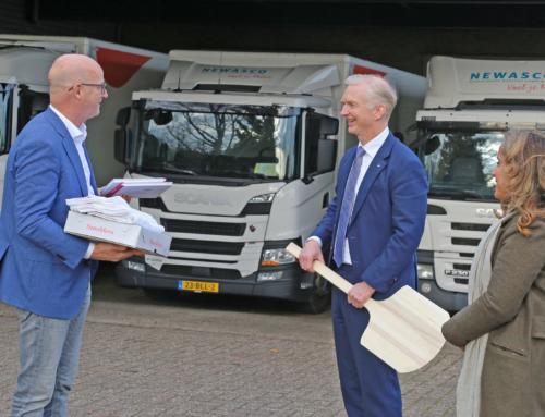 Dag van de Ondernemer: gedeputeerde bezoekt bedrijf voorzitter VAB